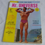 Mr Universe February 1963 Lynn Lyman front cover